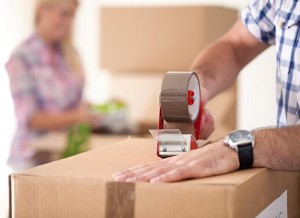 Home packing, moving and storage services.
